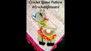 How to Crochet Llama Pattern #Crochetitforward