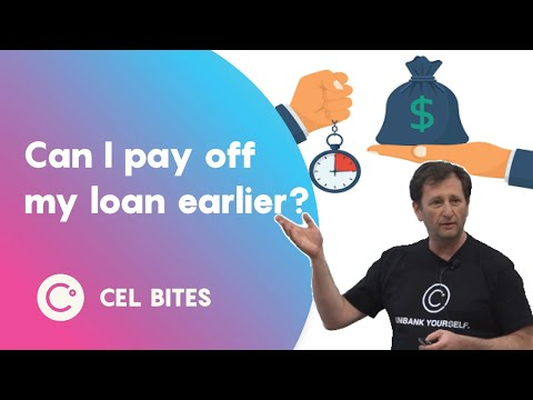 Can I pay off my loan earlier? - CEL Bites
