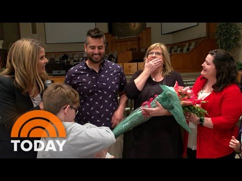 Memphis Mom Gets A Heartwarming Mother's Day Surprise | TODAY