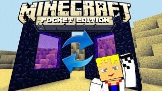 Como criar e sincronizar portais do Nether no Minecraft Pocket Edition 0.12.1