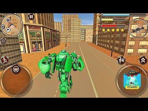 Juegos De Carros Para Ninos Robots City Battle Juegos Para Ninos