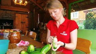 Sałatka z ogórków w musztardzie, Canned mustard cucumber salad - Iwona Blecharczyk 2019/62
