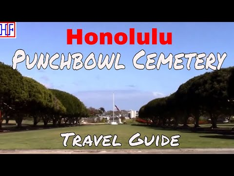 Honolulu | National Memorial Cemetery of the Pacific | Travel Guide | Episode# 12
