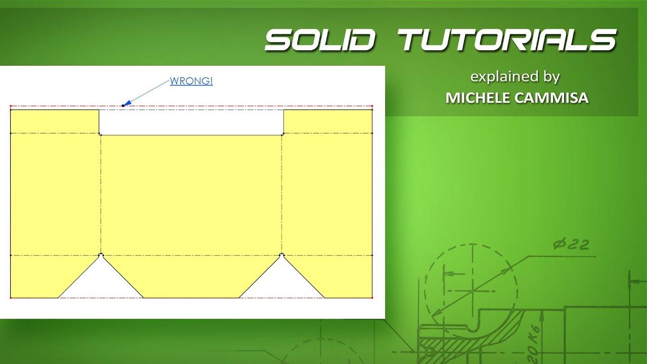Solidworks Sheet Metal K Factor Wrong Flat Pattern