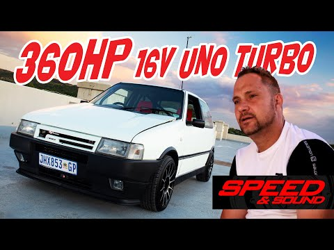 360hp Fiat Uno Turbo With 16V Palio Motor