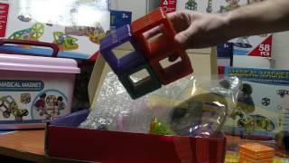 Доступные магнитные конструкторы magical magnet - полный обзор