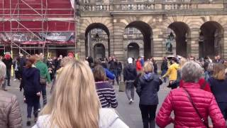 Edinburgh High Street Zumba Flashmob