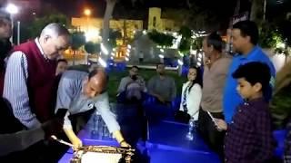 بالفيديو والصور.. تكريم رئيس مجلس إدارة مركز شباب تلا