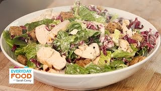 Buttermilk Chicken Caesar Salad Recipe - Everyday Food With Sarah Carey