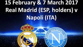 Real Madridv Napoli UEFA Champions League Round Of 16 , 1st Leg