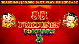 88 Fortunes Slot Machine Play Up To $44 Max Bet | SEASON 5 | EPISODE #17
