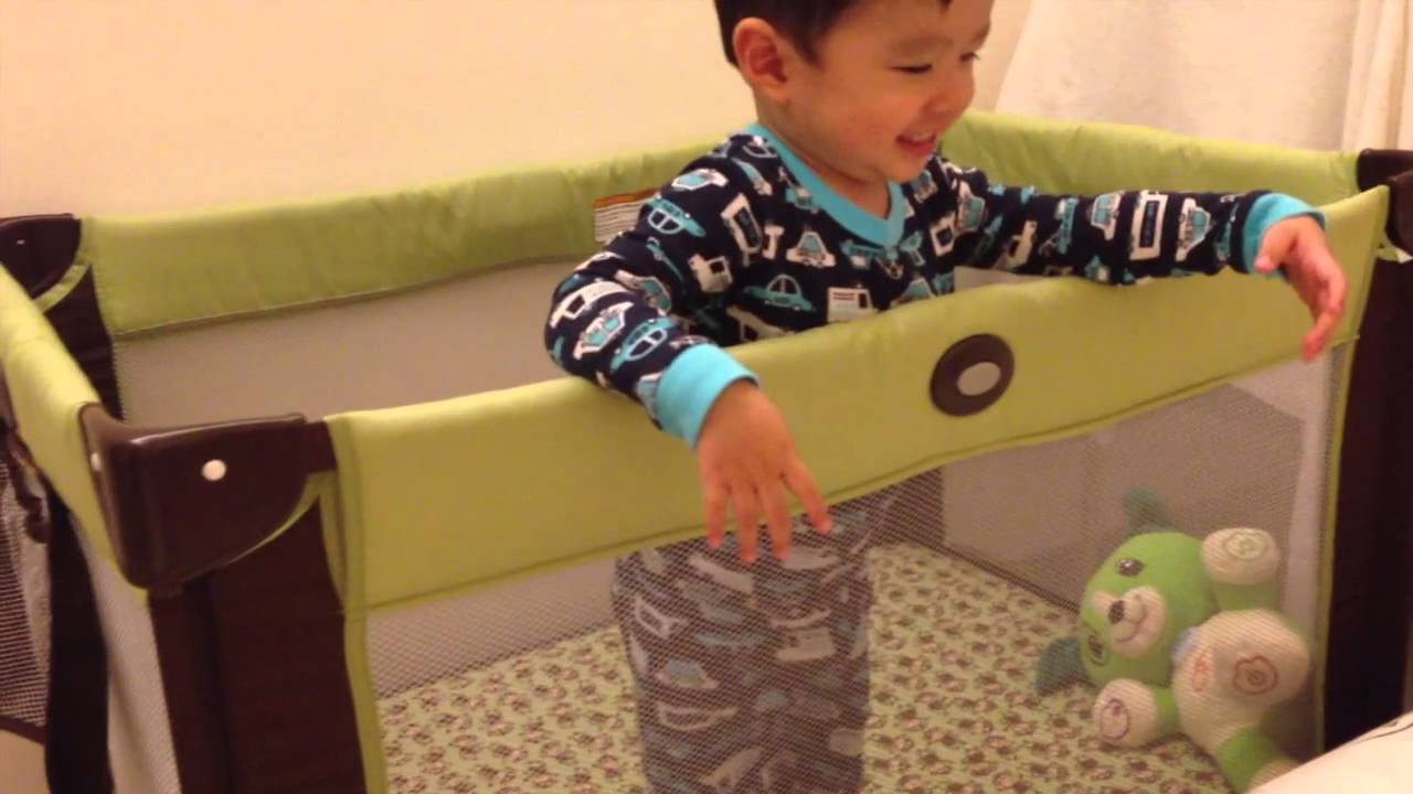 Graco Pack N Play On The Go Travel Playard Youtube