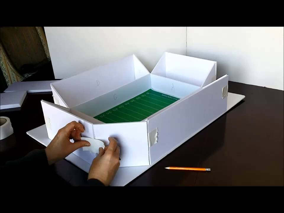 How to Build a Snack Stadium - YouTube