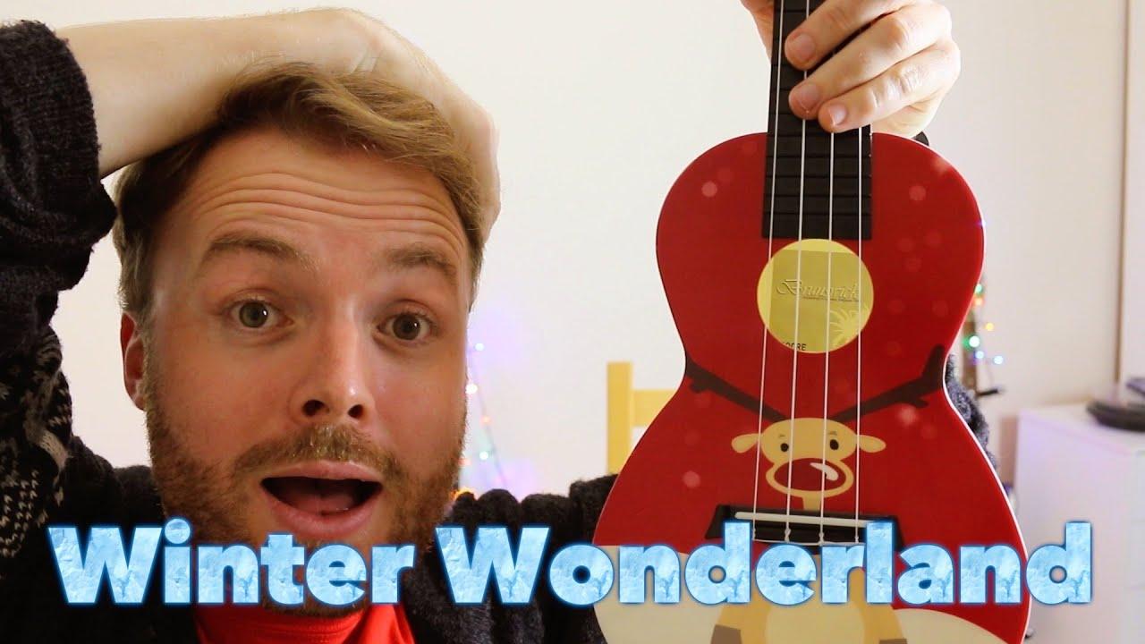 Walking In A Winter Wonderland Christmas Ukulele Tutorial Youtube