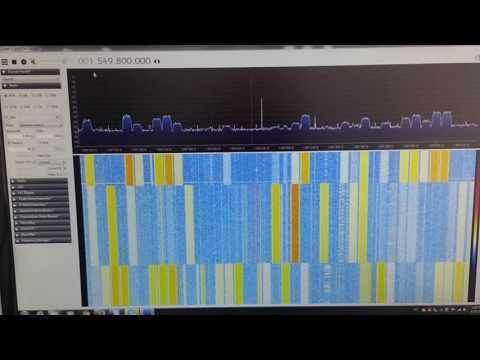 HackRF + LNA4ALL RX mode L-band indoor