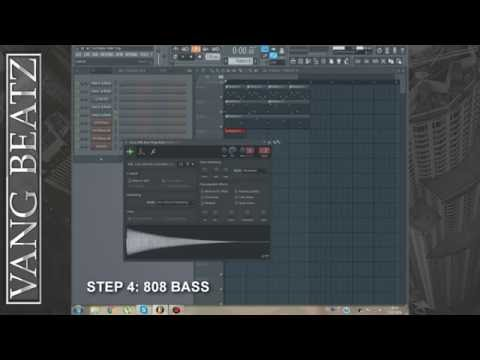 how to write a trap drum