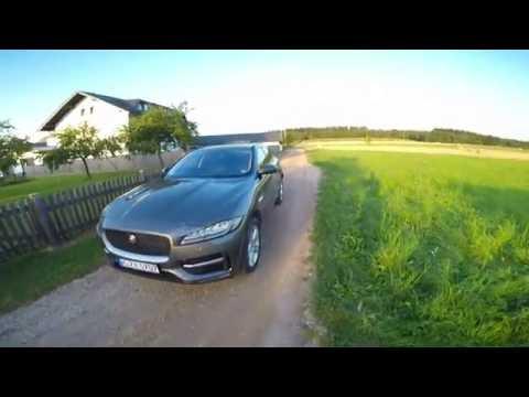 Jaguar F-Pace POV Sunset Drive Around Nurburgring Nordschleife