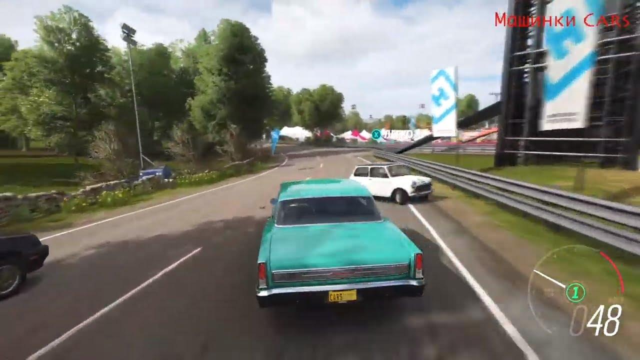 Chevrolet nova super sport 1966 / car racing / гонки на машинах