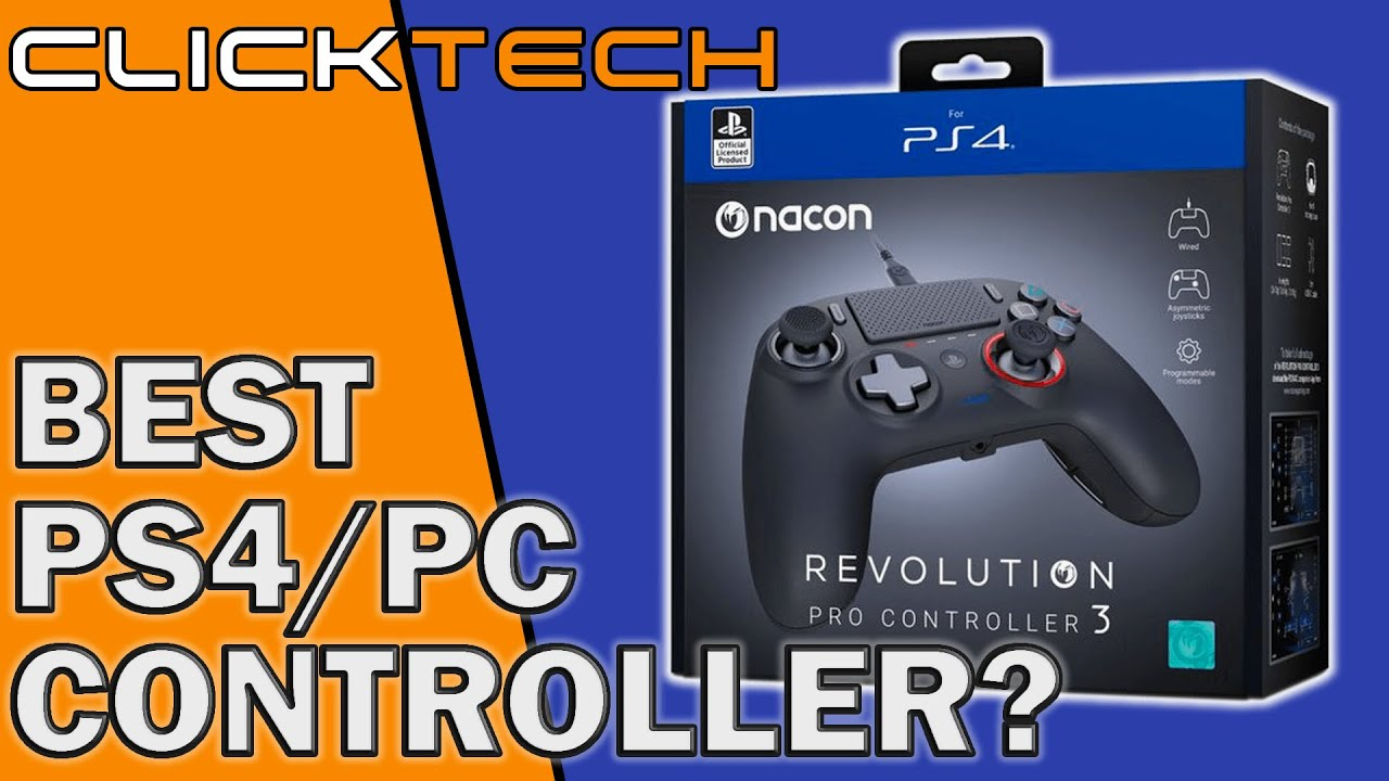 Nacon Revolution Pro Controller 3 Unboxing And Review Youtube