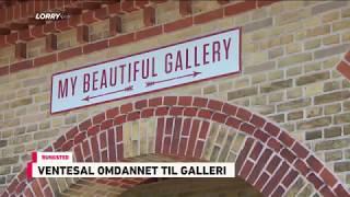 Gammel ventesal omdannet til galleri