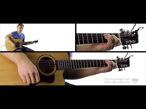 Even If It Breaks Your Heart Eli Young Band Guitar Lesson and Tutorial