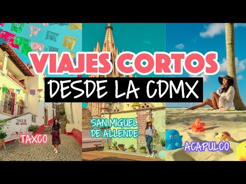 Viajes cortos desde la Ciudad de México