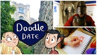 DRAWING IN A CASTLE & Childhood art supplies