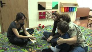 Групповая работа с детьми с ОВЗ В Центре