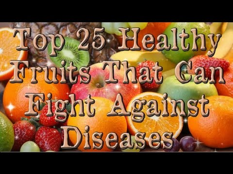The top 25 healthy fruits: Blueberries, apples, cherries, bananas and 21 more healthy picks