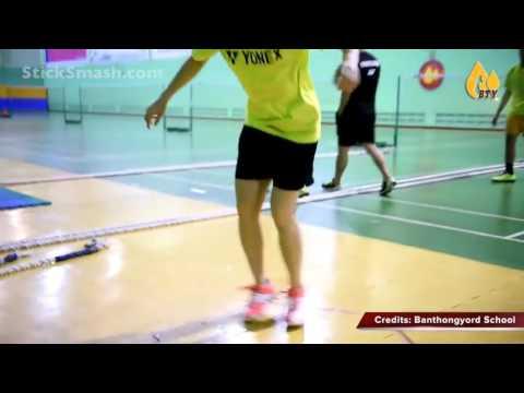 Latihan kecepatan dalam badminton