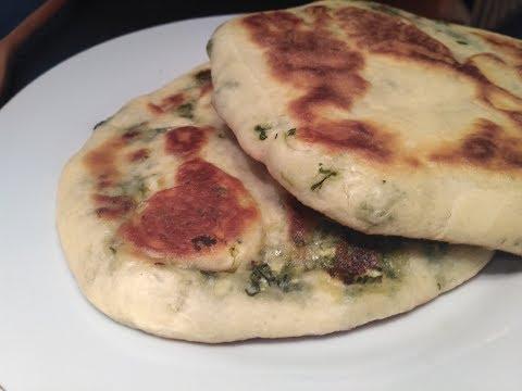 galettes-farcies-à-la-poêle,-épinard-fromage/-recette-traditionnelle-roumaine