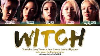[STUDIO VER.] GOOD GIRL (Cheetah, Yeeun, Jiwoo, Jamie, Hyoyeon) WITCH Lyrics Color Coded Han/Rom/Eng