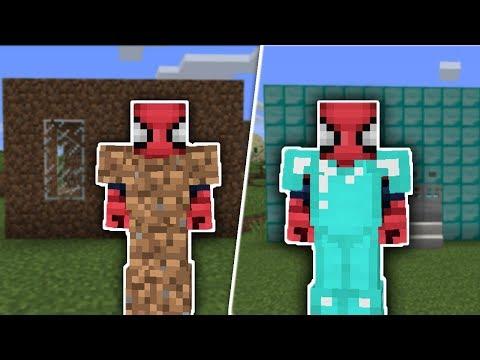 ZENGİN VS FAKİR ÖRÜMCEK ADAM #1 - Minecraft