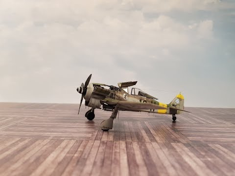 Eduard FW 190 A-8 in 1/72, step by step...