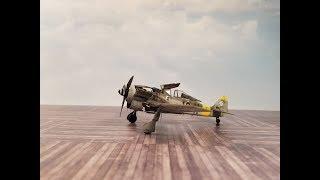 Едуард винищувача Fw 190 А-8 в 1/72, крок за кроком будувати