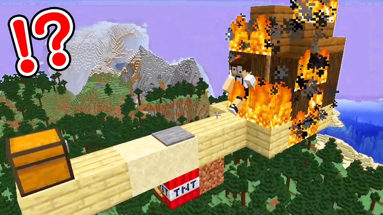 How do you trick your friends in Minecraft?