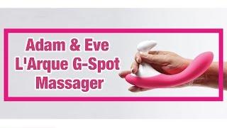 L'Arque G Spot Massager   G-Spot Vibrating Massager   Rechargeable Luxury Vibrating Massager Review