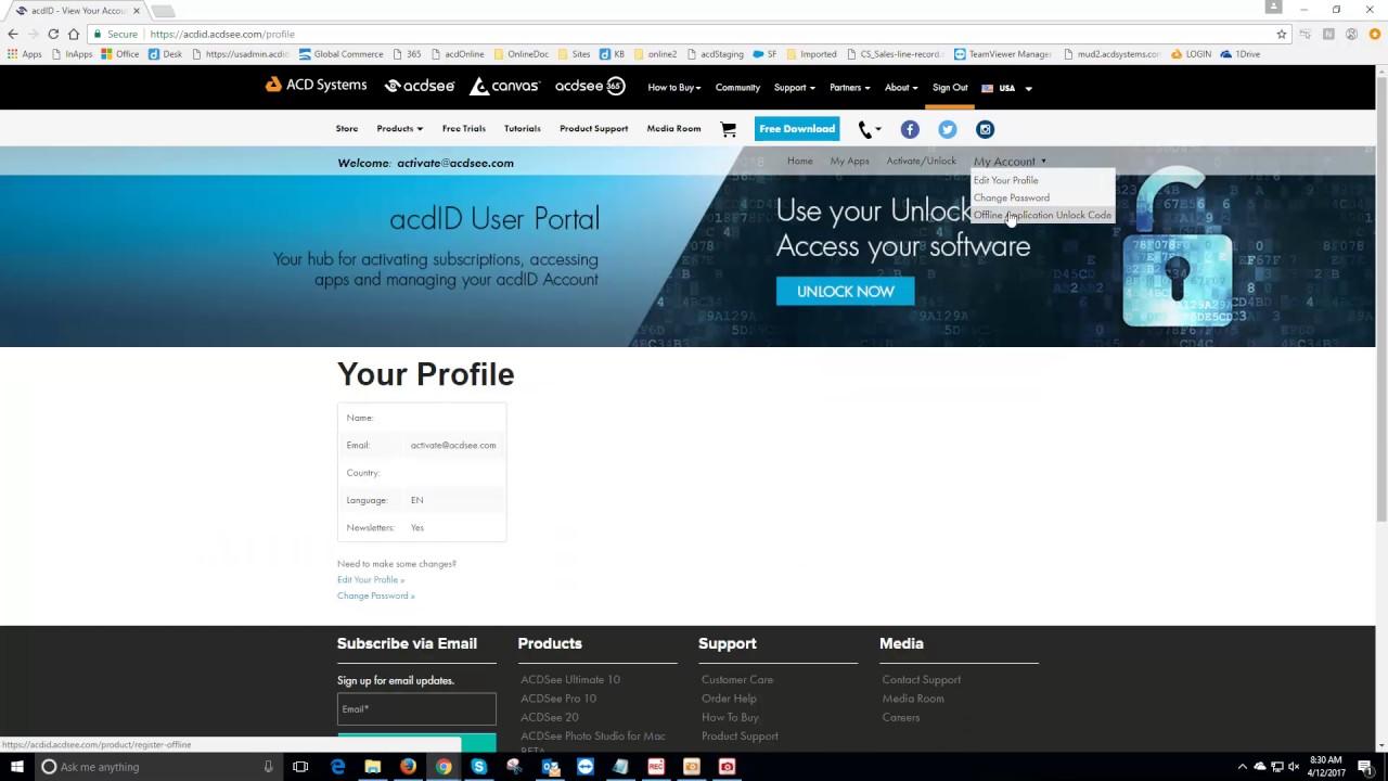 acdsee 2018 offline registration key