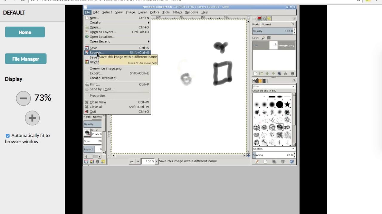 Use Gimp online image editor & paint tool free App - OffiDocs