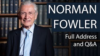 Lord Norman Fowler | Full Address and Q&A | Oxford Union