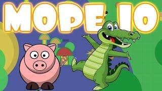 KAN IK EEN KROKODIL WORDEN?! | Mope.io