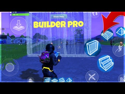 Fortnite Mobile Update - NEW BUILD BUTTONS!