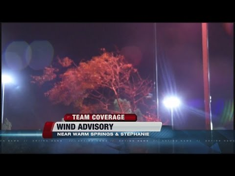 Wind, rain around Las Vegas valley Friday night