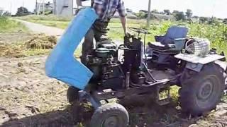 Супер трактор самодельный  орденоносца из Глыбоцкого