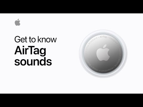 Get to know AirTag sounds — Apple Support