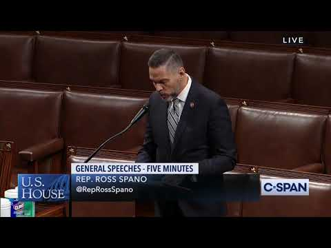 Rep. Spano Honors the Memory of USMC SGT. Daniel McKinnon Angus