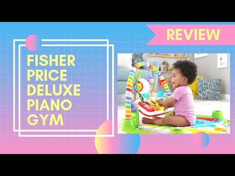 Fisher Price Deluxe Piano Gym | Baby Play Mat - Best Fisher Price Baby Play Mat Review