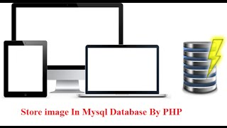 How to Store Image in MySql database Using Php in Tamil