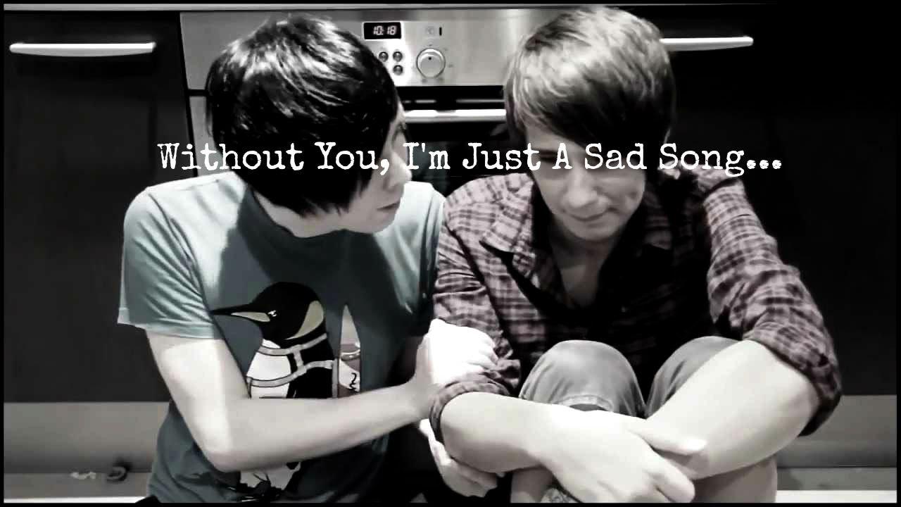 Dan and phil sad song youtube