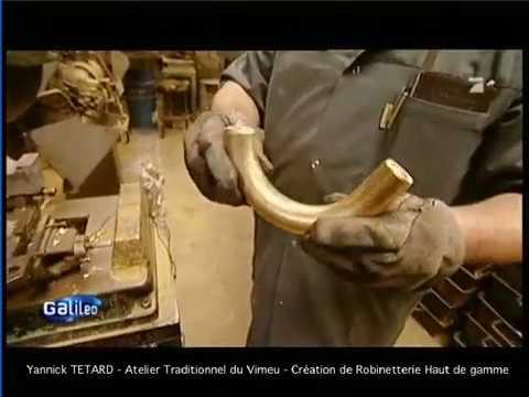 yannick tetard atelier traditionnel du vimeu cr ation de robinetterie haut de gamme youtube. Black Bedroom Furniture Sets. Home Design Ideas